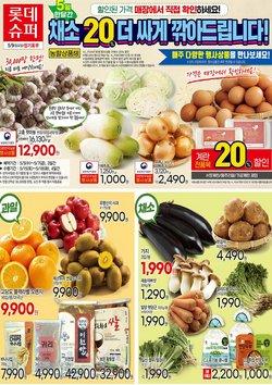 롯데슈퍼 전단지의 슈퍼마켓·편의점 할인 ( 한 달 이상)