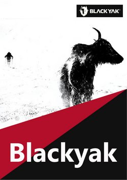 블랙야크 ( 내일 만료됨 ) 카탈로그