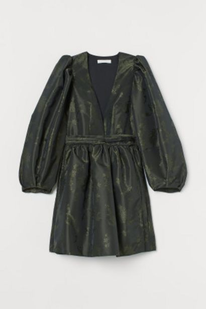 패턴 랩스타일 드레스 오퍼, 59900원