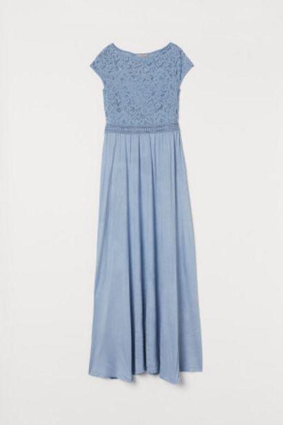 레이스 디테일 맥시 드레스 오퍼, 17900원