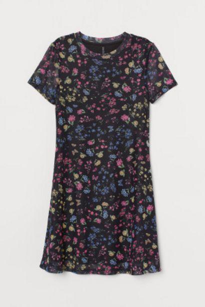 패턴 메쉬 드레스 오퍼, 5900원