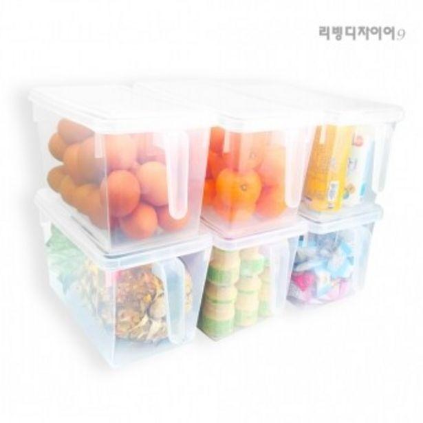 (무료배송) 투명 대용량 냉장고정리함 오퍼, 2900원