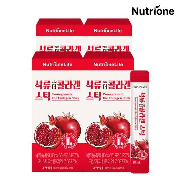 석류 더 콜라겐 스틱 4박스(8주분) /액상형석류콜라겐 오퍼, 65900원