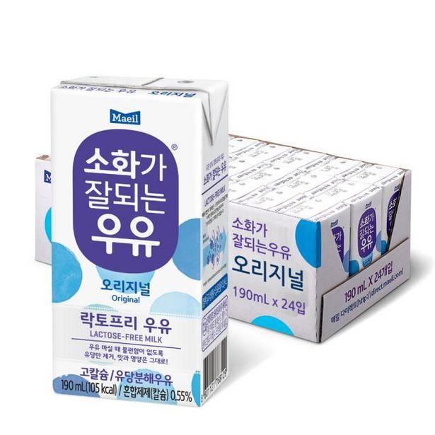 소화가 잘되는 우유 오리지널 190ml 24팩 오퍼, 20900원