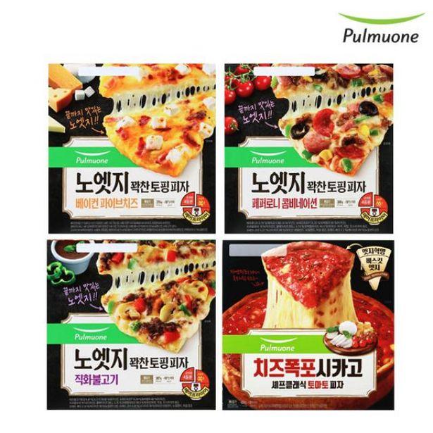 노엣지 피자 3종 3판 (콤비+치즈+불고기)+시카고 토마토 1판 오퍼, 30420원