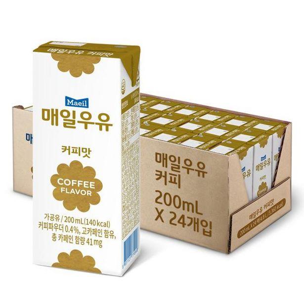 멸균우유 커피 200ml 24팩 오퍼, 10900원