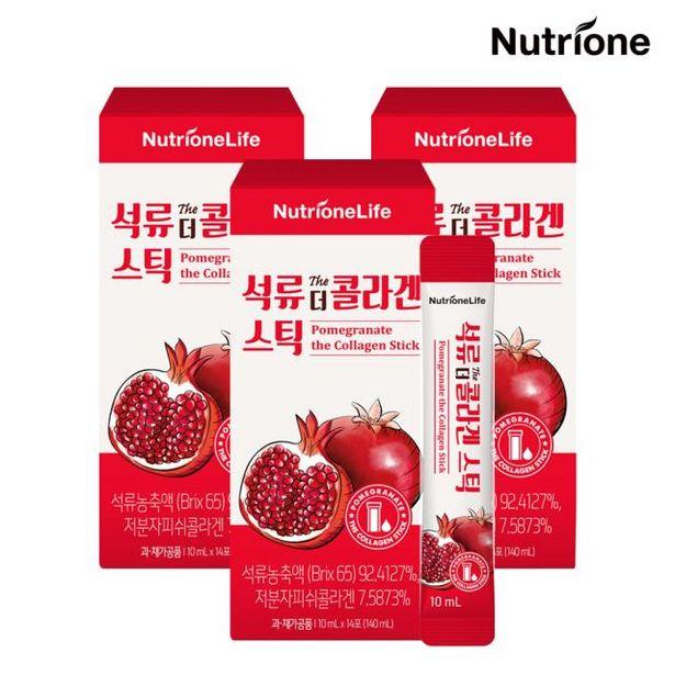 석류 더 콜라겐 스틱 3박스(6주분) /액상형석류콜라겐 오퍼, 51900원