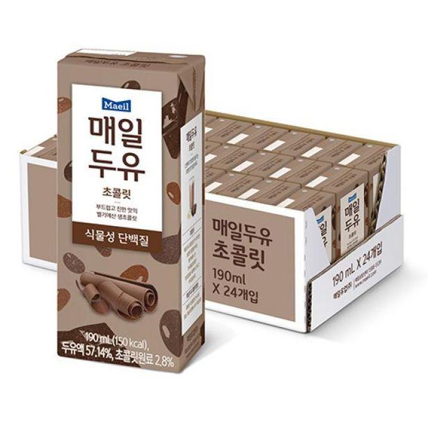 두유 초콜릿 190ml 24팩 오퍼, 13900원