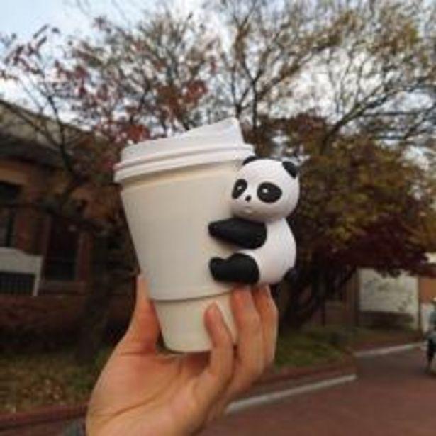실리콘 팬더 컵홀더 / 드링크 홀더 일회용 종이컵, 플라스틱컵 사용 가능 오퍼, 9900원