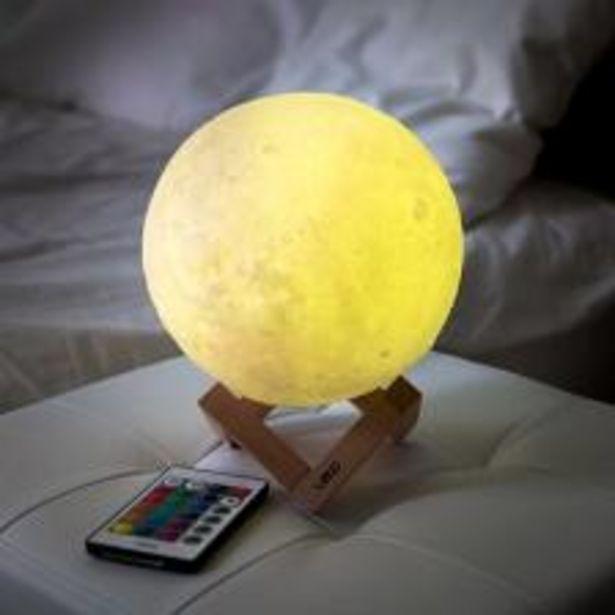 레토 16컬러 3D 입체 달 무드등 LED 조명 스탠드 LML-M20 오퍼, 10900원