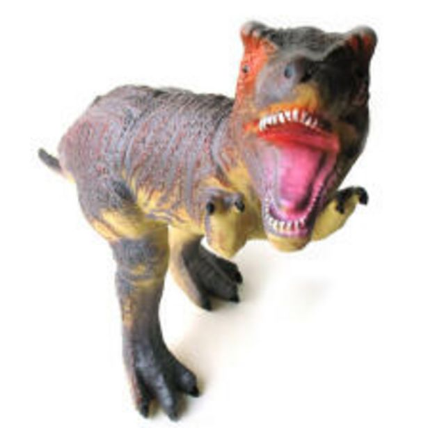 소프트 공룡 (대) 티라노 사우루스 진회색 모형 오퍼, 19200원